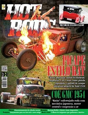 Banner Capa da Revista Mês Hot Rods