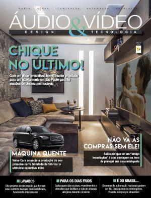 Banner Capa da Revista Mês Áudio & Vídeo