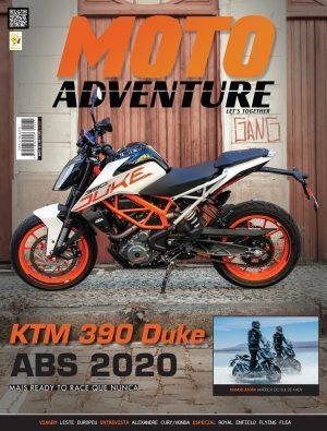Banner Capa da Revista Mês Moto Adventure